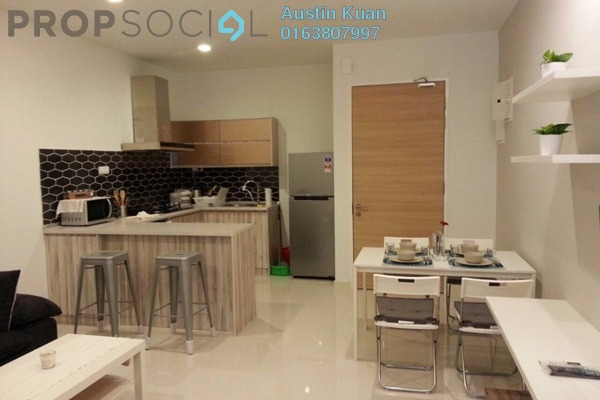 For Rent Serviced Residence at Camellia, Bangsar South Leasehold Fully Furnished 1R/1B 2.45k