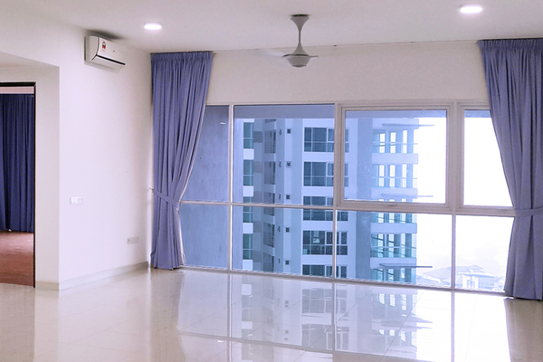 For Rent Condominium at Seringin Residences, Kuchai Lama Freehold Semi Furnished 3R/3B 2.55k