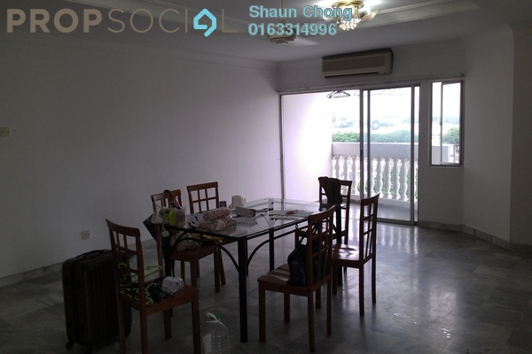 For Rent Condominium at Endah Villa, Sri Petaling Freehold Semi Furnished 3R/2B 1.8k