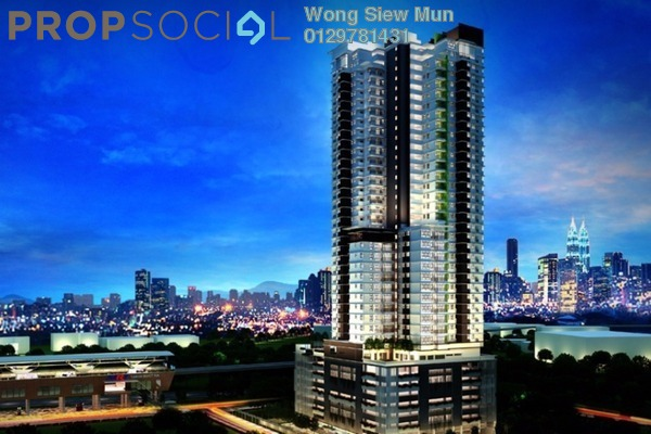 For Rent Condominium at Vila Vista, Cheras Leasehold Unfurnished 4R/3B 3k