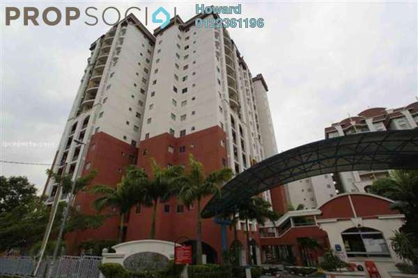 For Rent Condominium at Ketumbar Hill, Cheras Freehold Unfurnished 3R/2B 1.2k