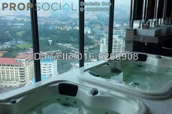 For Rent Condominium at Setia Sky Residences, KLCC Freehold Fully Furnished 2R/2B 6k
