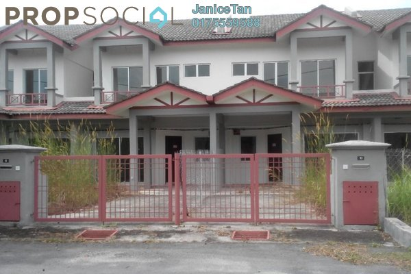 For Sale Terrace at Alam Perdana, Kuala Selangor Leasehold Unfurnished 4R/3B 310k