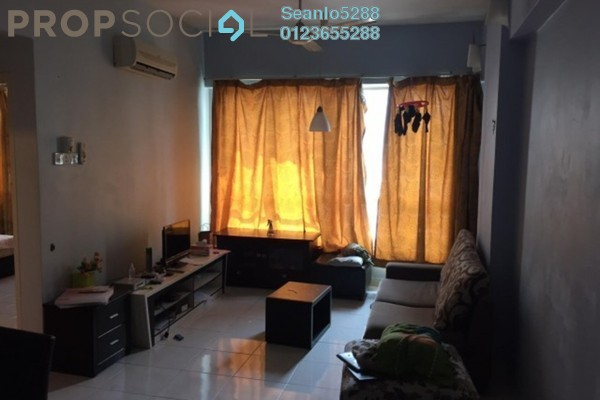 For Rent Condominium at e-Tiara, Subang Jaya Freehold Semi Furnished 2R/1B 1.65k
