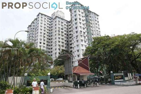 For Sale Condominium at Seri Mas, Bandar Sri Permaisuri Leasehold Semi Furnished 3R/1B 360k