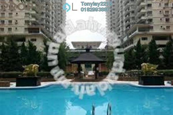 For Rent Condominium at Platinum Hill PV3, Setapak Freehold Semi Furnished 3R/2B 1.6k