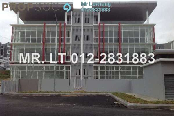 For Rent Factory at Temasya Glenmarie, Shah Alam Freehold Semi Furnished 0R/0B 35k