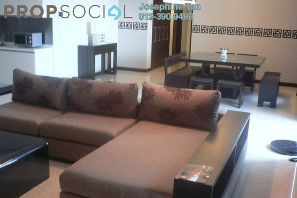 For Rent Condominium at Hampshire Residences, KLCC Freehold Fully Furnished 1R/1B 3.5千
