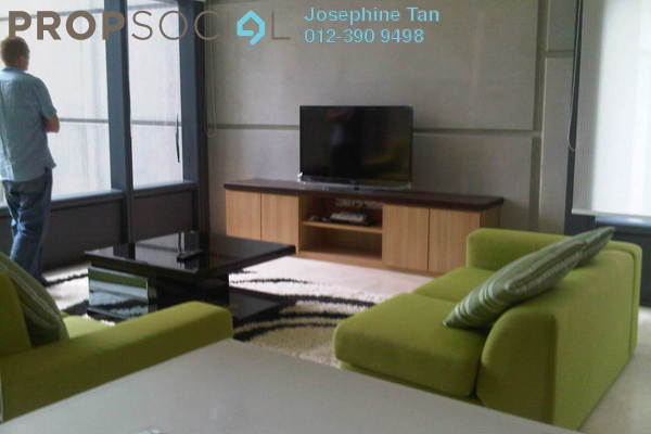 For Rent Condominium at The Troika, KLCC Freehold Semi Furnished 3R/3B 11k