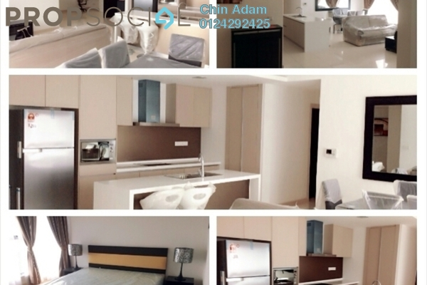 For Rent Condominium at Suasana Bukit Ceylon, Bukit Ceylon Freehold Fully Furnished 3R/2B 5k