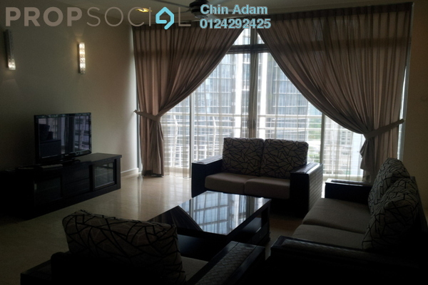 For Rent Condominium at Idaman Residence, KLCC Freehold Fully Furnished 3R/5B 6.5k