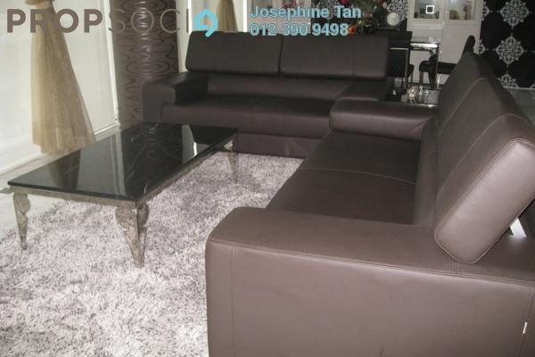 Leather sofa small