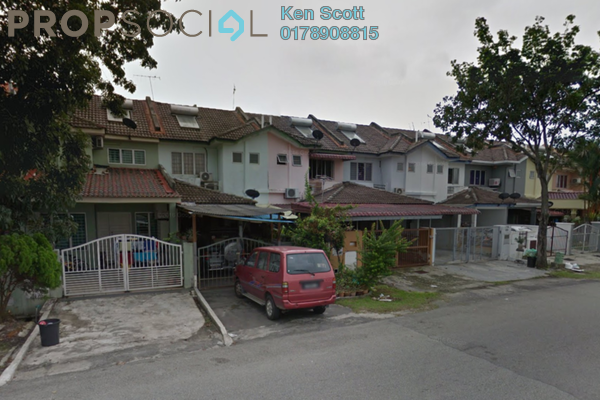 For Sale Terrace at PU10, Bandar Puchong Utama Freehold Semi Furnished 4R/3B 515k