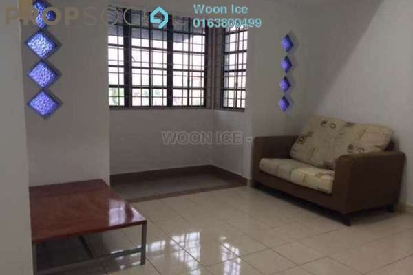 For Sale Townhouse at Taman Damai Impian 1, Bandar Damai Perdana Freehold Semi Furnished 3R/2B 450k
