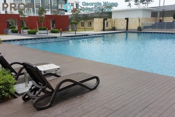For Rent Condominium at BSP Skypark, Bandar Saujana Putra Leasehold Semi Furnished 3R/2B 1.2k