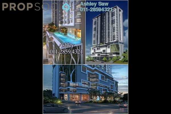 For Sale Condominium at Avantas Residences, Old Klang Road Freehold Semi Furnished 1R/1B 525k