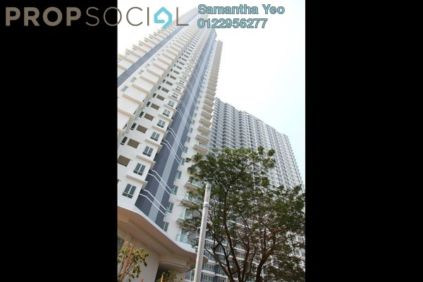 For Sale Serviced Residence at Desa Green Serviced Apartment, Taman Desa Freehold Unfurnished 1R/1B 472k