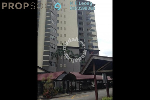 For Rent Condominium at Union Heights, Old Klang Road Freehold Fully Furnished 2R/2B 1.3k