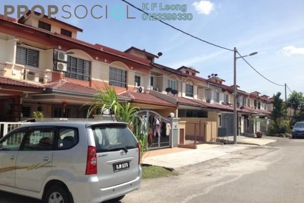 For Sale Terrace at Taman Damai Utama, Bandar Kinrara Leasehold Semi Furnished 4R/3B 1.3m