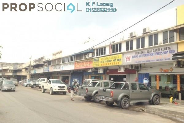 For Rent Shop at Taman Sri Sinar, Segambut Freehold Semi Furnished 0R/0B 7.1k