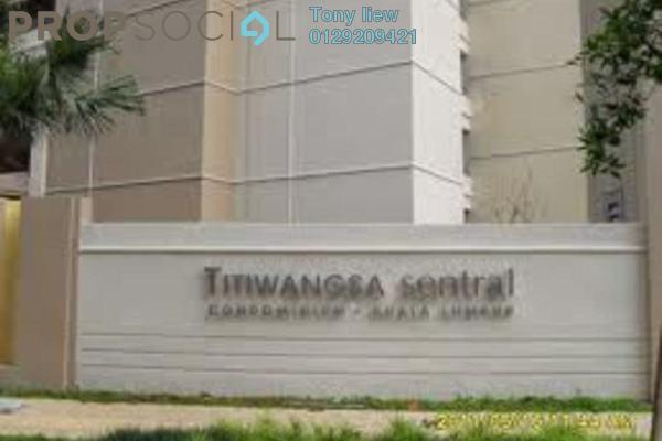 For Rent Condominium at Titiwangsa Sentral, Titiwangsa Freehold Fully Furnished 0R/0B 2.8k