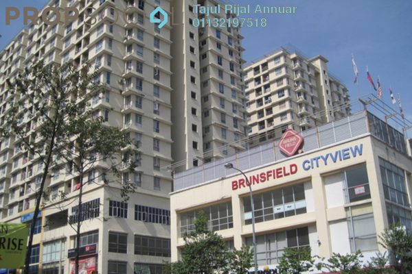 For Sale Condominium at Warisan Cityview, Cheras Leasehold Semi Furnished 3R/2B 520k