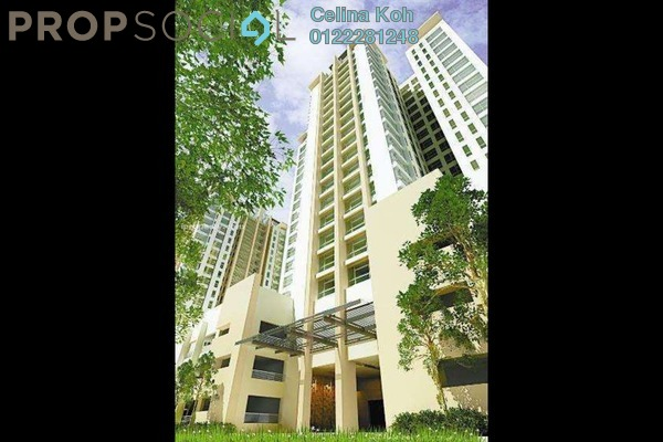 For Sale Condominium at The Saffron, Sentul Freehold Fully Furnished 3R/2B 705k