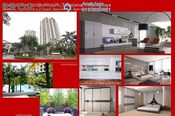 For Sale Condominium at Riana Green, Tropicana Leasehold Semi Furnished 4R/5B 1.55m