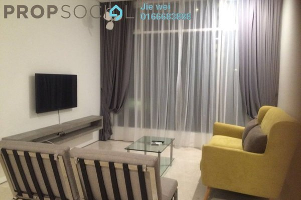 For Rent SoHo/Studio at Soho Suites, KLCC Freehold Fully Furnished 2R/1B 6k