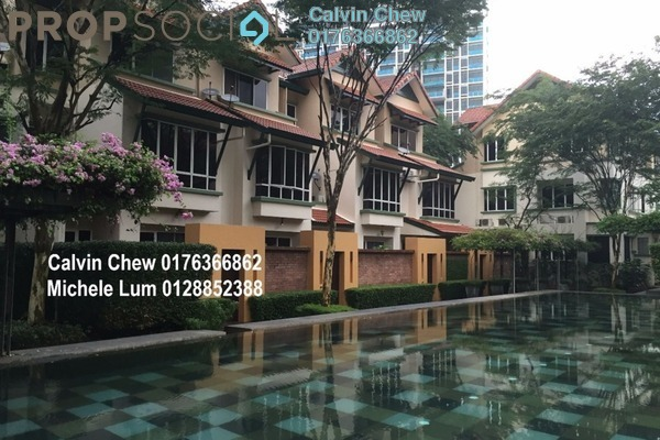 For Sale Terrace at Adora, Desa ParkCity Freehold Semi Furnished 3R/3B 1.73m