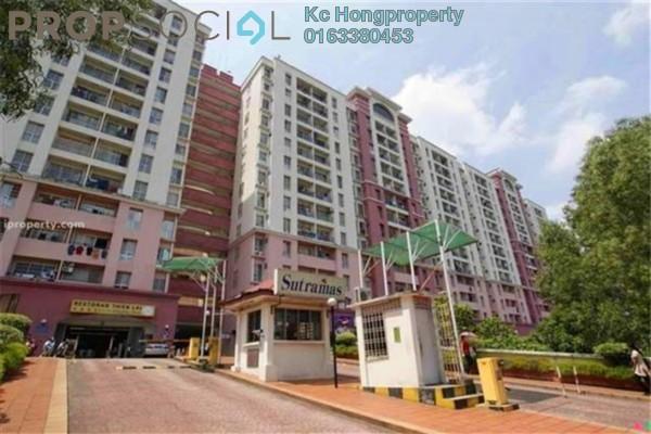 For Rent Condominium at Sutramas, Dutamas Freehold Semi Furnished 3R/2B 1.2k
