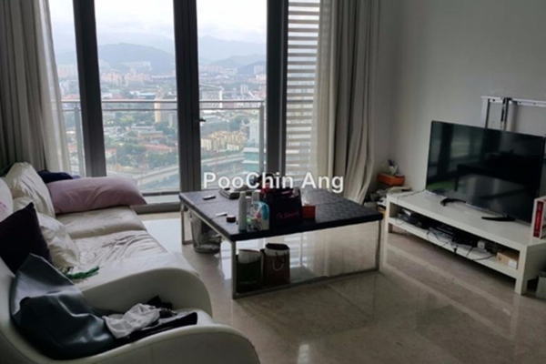 For Rent Condominium at K Residence, KLCC Freehold Fully Furnished 2R/3B 7k
