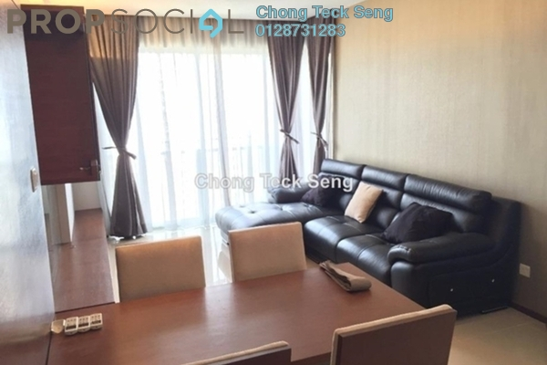 For Rent Serviced Residence at VERVE Suites, Mont Kiara Freehold Fully Furnished 2R/2B 2.5k