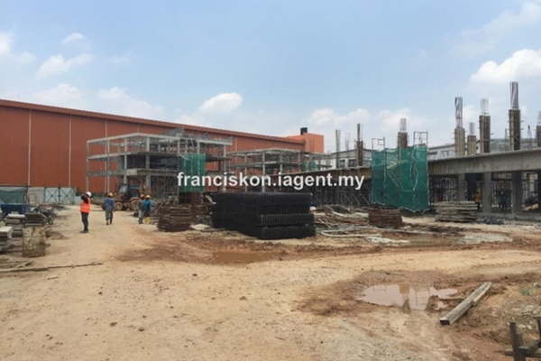 For Sale Factory at Gravitas, Shah Alam Leasehold Unfurnished 0R/1B 4.79m