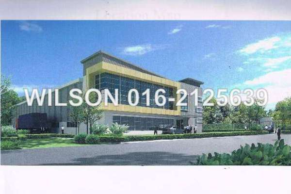 For Sale Factory at Putra Industrial Park, Puchong Freehold Unfurnished 0R/1B 11.3m