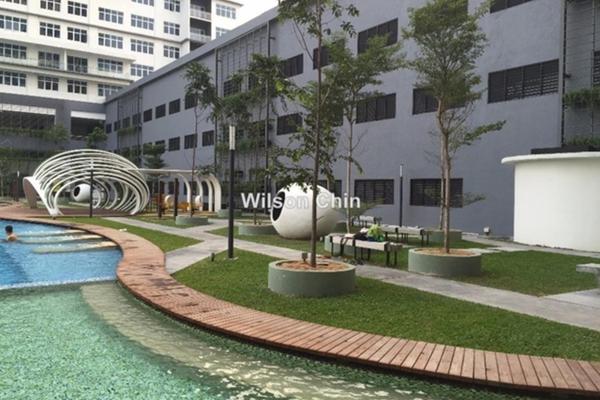 For Rent Condominium at Skypod, Bandar Puchong Jaya Freehold Unfurnished 2R/2B 1.2k