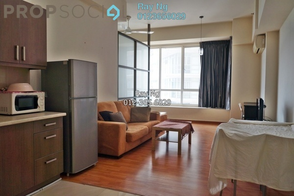 For Sale Condominium at Park View, KLCC Freehold Fully Furnished 1R/1B 550k