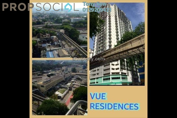 For Rent Condominium at Vue Residences, Titiwangsa Freehold Fully Furnished 2R/1B 2.5k