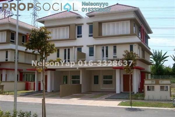 For Sale Semi-Detached at The Rafflesia, Damansara Perdana Leasehold Semi Furnished 5R/5B 2.7m