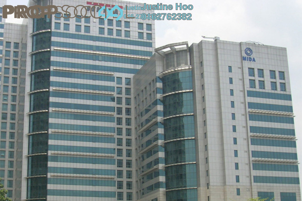For Rent Office at Plaza Sentral, KL Sentral Freehold Fully Furnished 0R/0B 1.8k