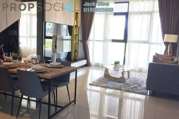 For Rent Serviced Residence at CyberSquare, Cyberjaya Freehold Semi Furnished 1R/1B 1.1k
