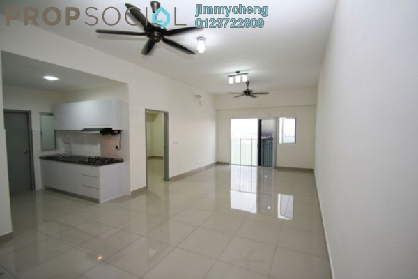 For Rent Serviced Residence at The Wharf, Puchong Leasehold Semi Furnished 3R/2B 1.6k