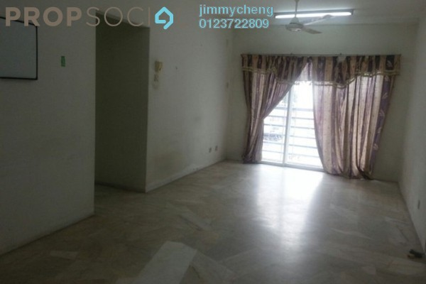 For Rent Apartment at Akasia, Petaling Jaya Leasehold Semi Furnished 3R/2B 1.1k