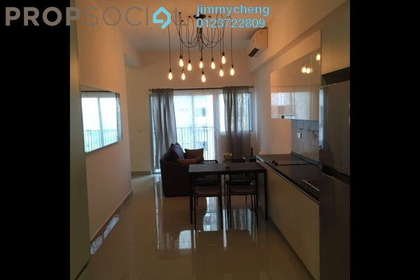 For Sale Serviced Residence at The Wharf, Puchong Leasehold Fully Furnished 1R/1B 380k
