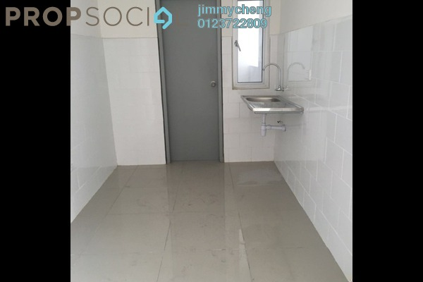 For Sale Serviced Residence at The Wharf, Puchong Leasehold Semi Furnished 3R/2B 520k