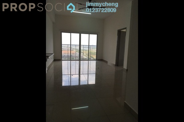 For Rent Serviced Residence at The Wharf, Puchong Leasehold Semi Furnished 3R/2B 1.2k
