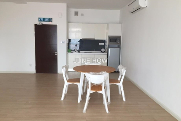 For Rent SoHo/Studio at Sunway Nexis, Kota Damansara Leasehold Semi Furnished 0R/1B 2.3k