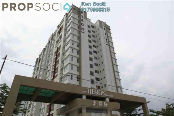 For Sale Serviced Residence at The Heron Residency, Puchong Leasehold Unfurnished 3R/2B 355k
