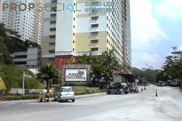 For Rent Apartment at Flora Damansara, Damansara Perdana Leasehold Semi Furnished 3R/2B 1.1Ribu