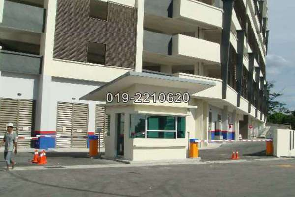 For Rent Condominium at Sky Vista Residensi, Cheras Leasehold Semi Furnished 4R/3B 2.1k